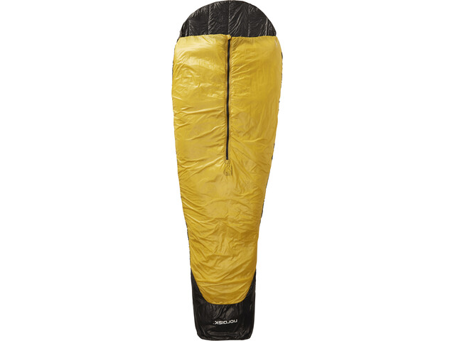 Nordisk Oscar +10° Sac de couchage XL, mustard yellow/black